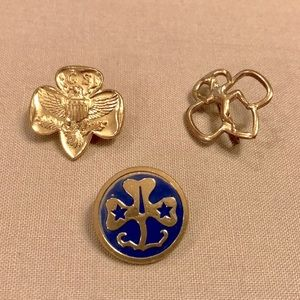 Vintage Girl Scouts of America Pins